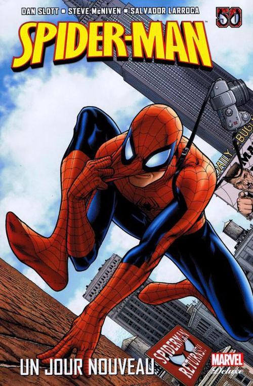 Couverture de Spider-Man - Un jour nouveau -1- Un jour nouveau