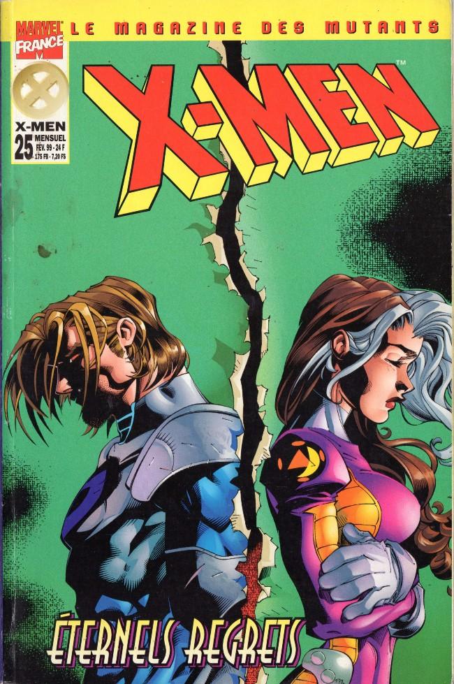 Couverture de X-Men (Marvel France 1re série - 1997) -25A- Eternels regrets