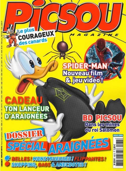 Couverture de Picsou Magazine -482- Picsou Magazine n° 482