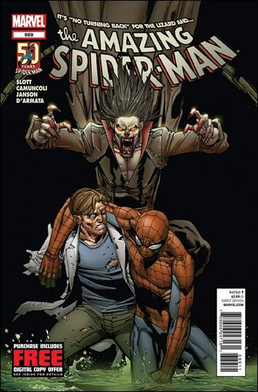Couverture de Amazing Spider-Man (The) Vol.2 (Marvel comics - 1999) -689- No turning back part 2 : no turning back