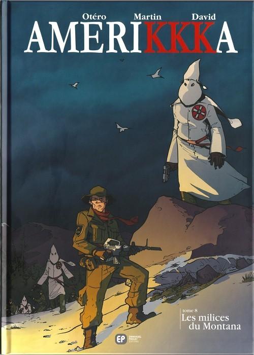 Couverture de Amerikkka -8- Les milices du Montana