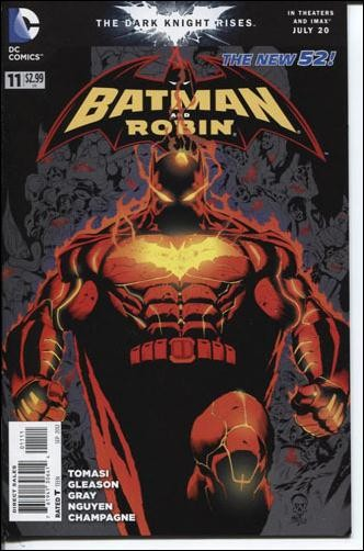 Couverture de Batman and Robin (2011) -11- Terminus : branded
