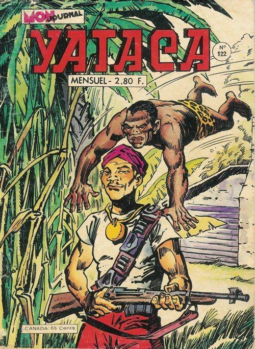 Couverture de Yataca (Fils-du-Soleil) -122- Le sortilège du vautour chauve