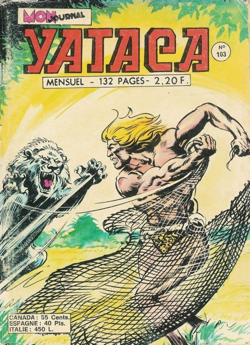 Couverture de Yataca (Fils-du-Soleil) -103- Le lion des neiges