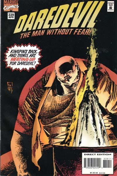Couverture de Daredevil (1964) -339- Betrayal