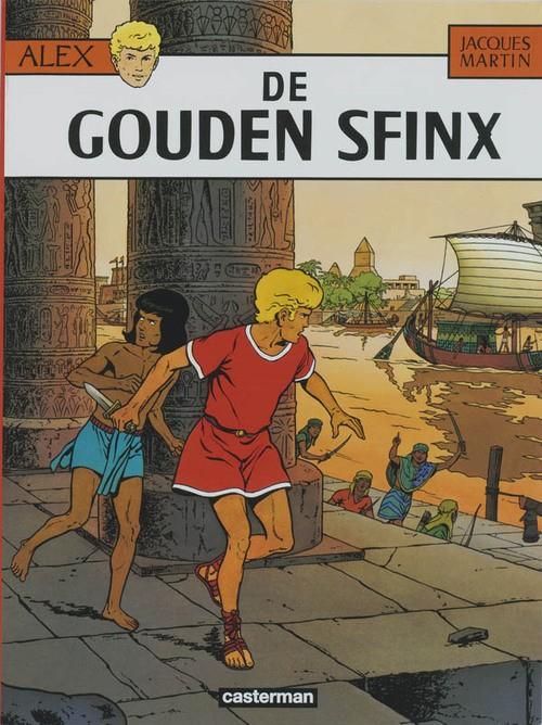 Couverture de Alix (en langues étrangères) -2NL- De gouden sfinx