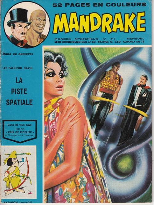 Couverture de Mandrake (1e Série - Remparts) (Mondes Mystérieux - 1) -416- La piste spatiale