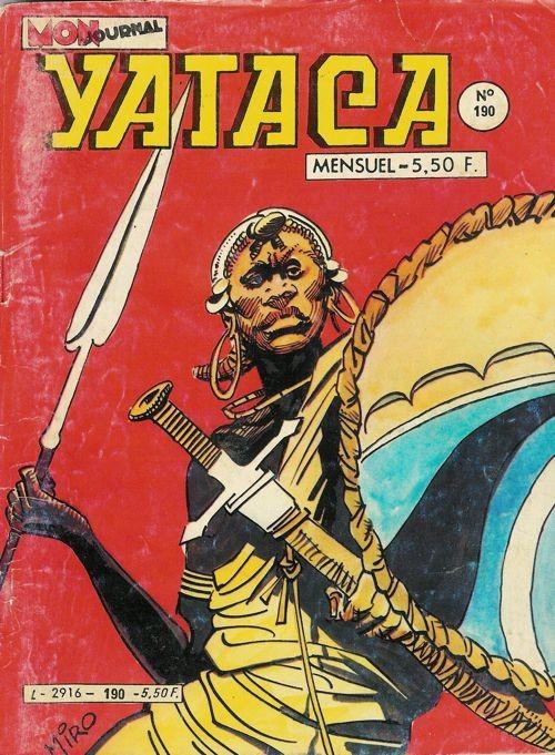 Couverture de Yataca (Fils-du-Soleil) -190- Le pays des hommes-lions