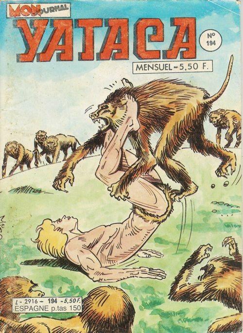 Couverture de Yataca (Fils-du-Soleil) -194- Les hommes sans nom