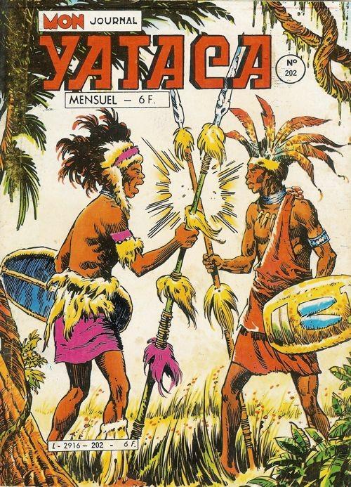 Couverture de Yataca (Fils-du-Soleil) -202- Les trafiquants de mort