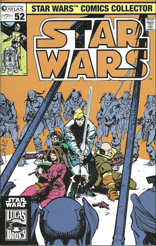 Couverture de Star Wars (Comics Collector) -52- Numéro 52