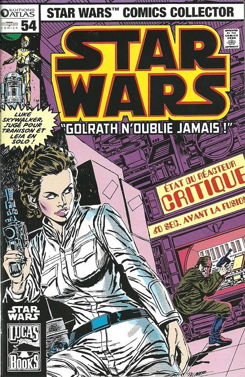 Couverture de Star Wars (Comics Collector) -54- Numéro 54