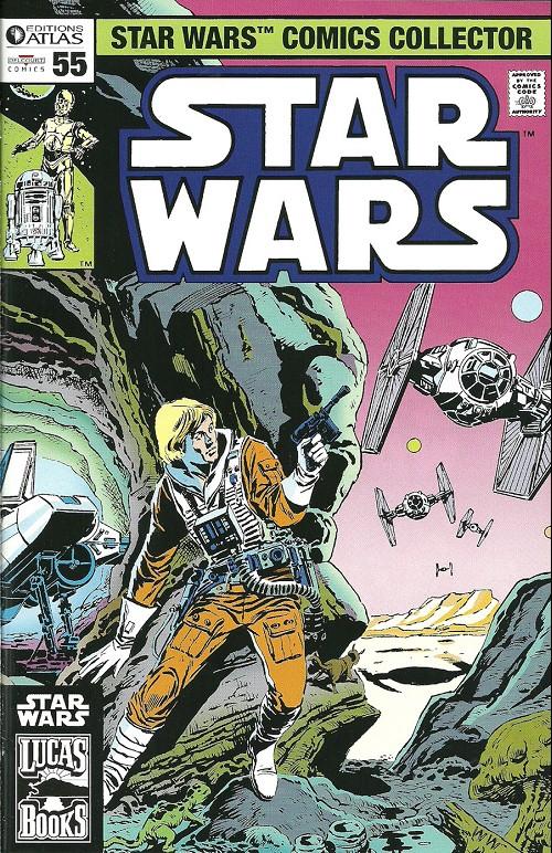 Couverture de Star Wars (Comics Collector) -55- Numéro 55
