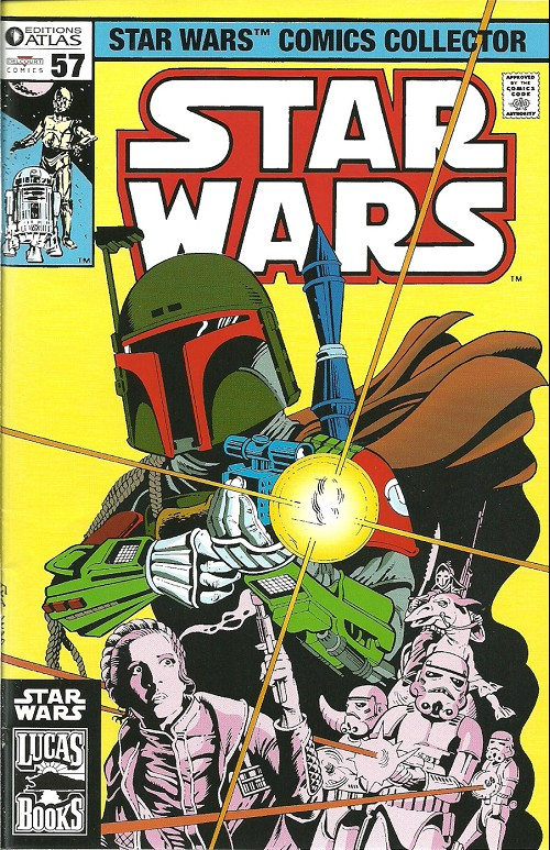 Couverture de Star Wars (Comics Collector) -57- Numéro 57