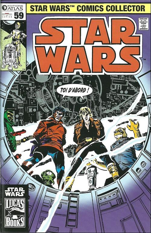 Couverture de Star Wars (Comics Collector) -59- Numéro 59