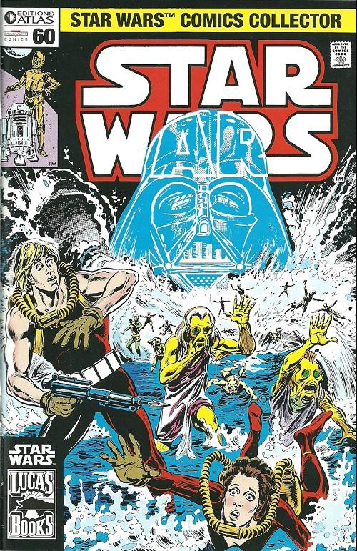 Couverture de Star Wars (Comics Collector) -60- Numéro 60