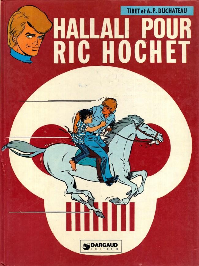 Couverture de Ric Hochet -28- Hallali pour Ric Hochet