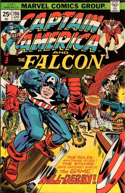 Couverture de Captain America (Marvel comics - 1968) -196- Kill-derby