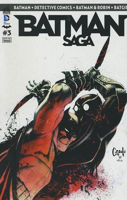 Couverture de Batman Saga -3- Numéro 3