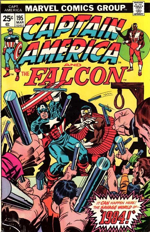 Couverture de Captain America (1968) -195- 1984!