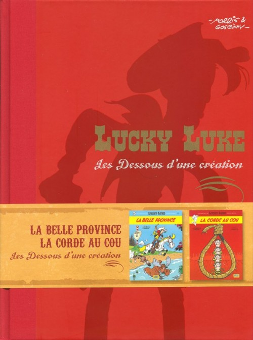 Couverture de Lucky Luke - Les Dessous d'une création (Atlas) -37- La belle province - La corde au cou