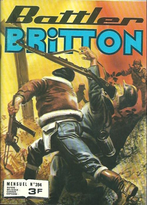 Couverture de Battler Britton -394- Duel sur Malte