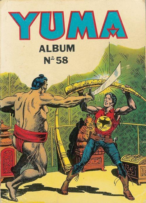 Couverture de Yuma (1re série) -Rec058- Album N°58 (du n°225 au n°227)