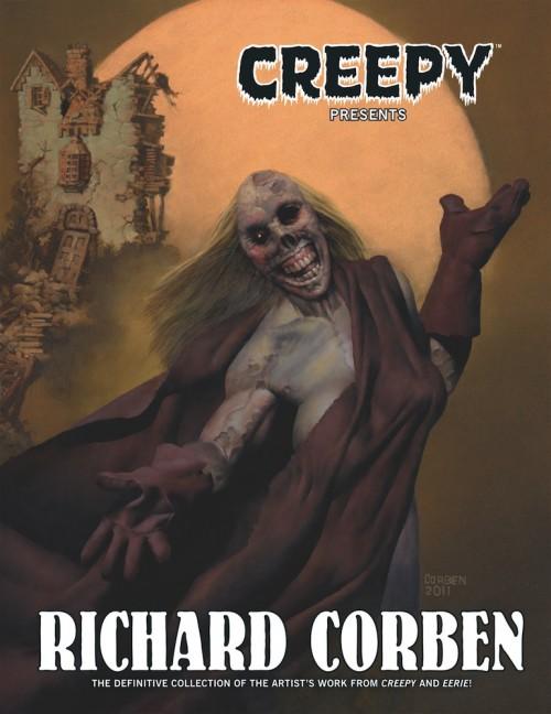 Couverture de Creepy presents Richard Corben (2012) -INT- Creepy presents Richard Corben