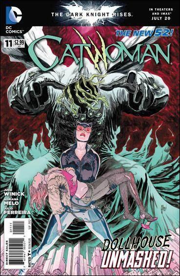 Couverture de Catwoman (2011) -11- I'm just refilling my coffers