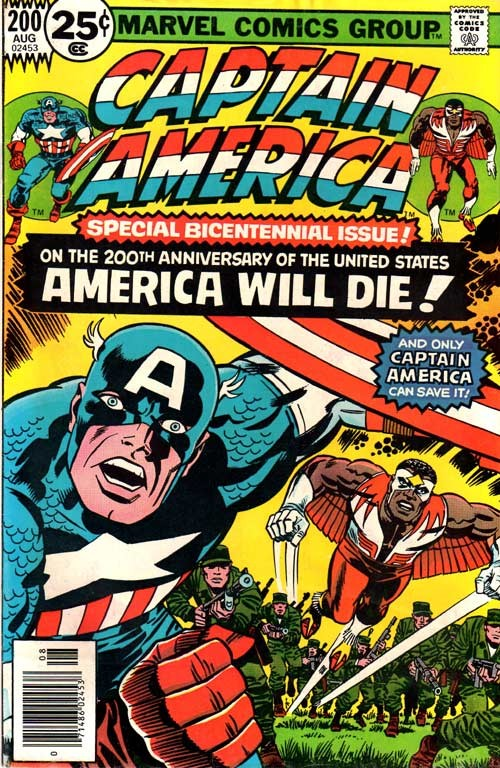 Couverture de Captain America (1968) -200- Dawn's early light!