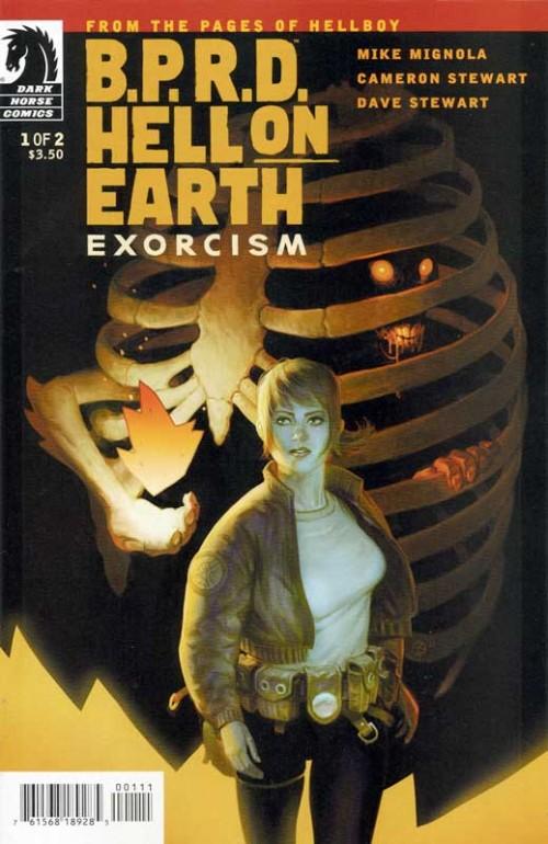 Couverture de B.P.R.D. (2003) -95- Hell on Earth - Exorcism 1
