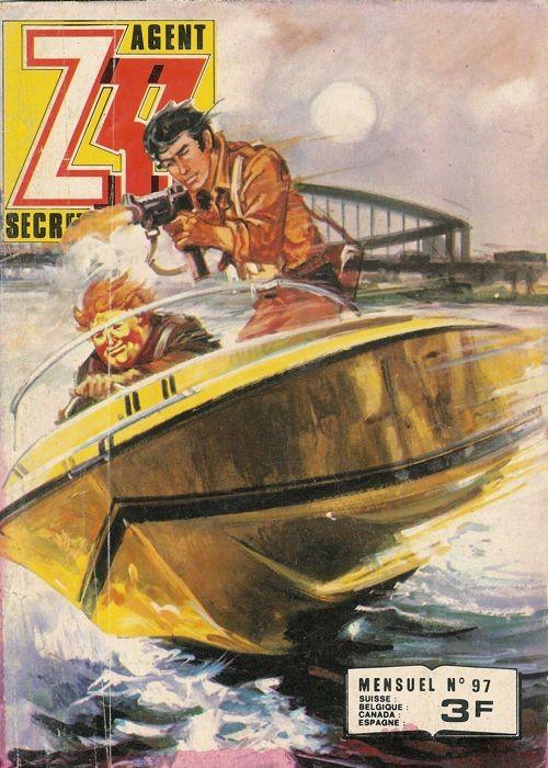 Couverture de Z33 agent secret -97- Des robinsons ailés