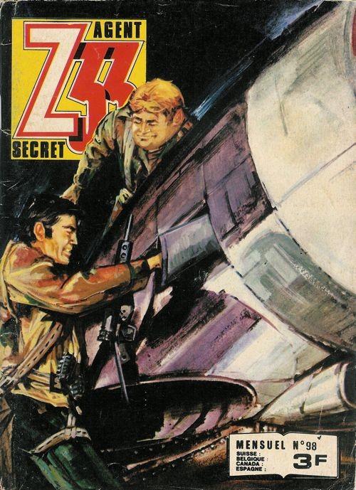 Couverture de Z33 agent secret -98- Le fugitif de l'aube