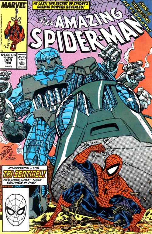 Couverture de The amazing Spider-Man Vol.1 (Marvel comics - 1963) -329- Power prey!