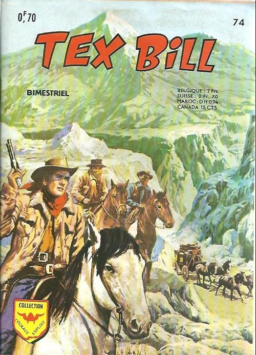 Couverture de Tex Bill -74- La cave du vieux Flanagan