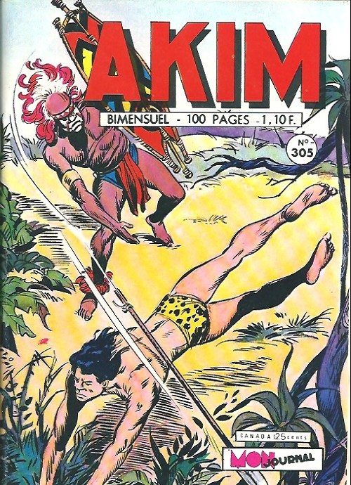 Couverture de Akim (1re série) -305- Le défi