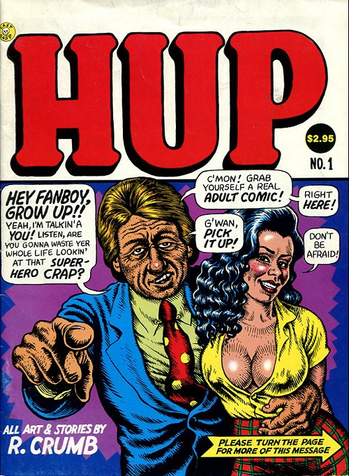 Couverture de Hup (1987) -1- Numéro 1