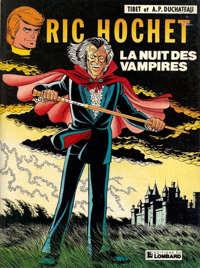 Couverture de Ric Hochet -34- La nuit des vampires