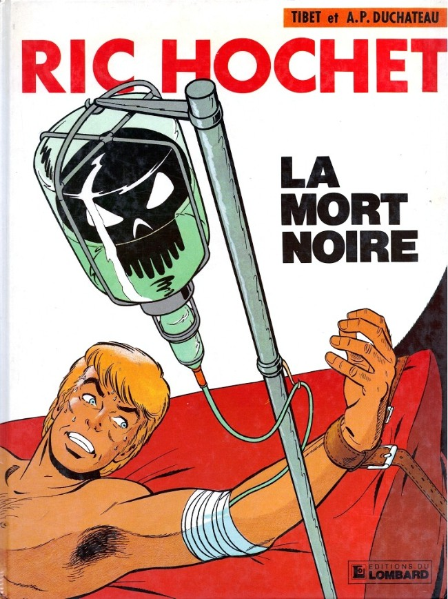 Couverture de Ric Hochet -35- La Mort noire