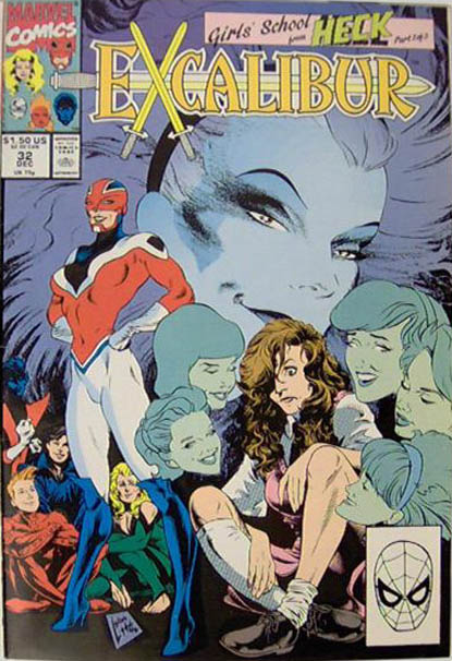 Couverture de Excalibur (1988) -32- Girls'school from Heck 1/3
