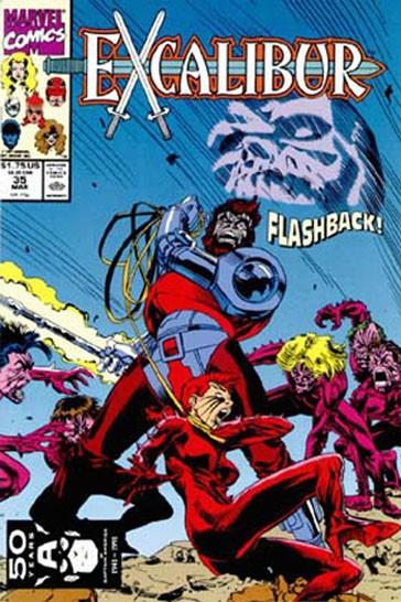 Couverture de Excalibur (1988) -35- Flashback