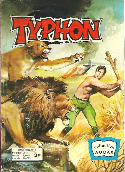 Couverture de Typhon -9- Prisonnier de la jungle