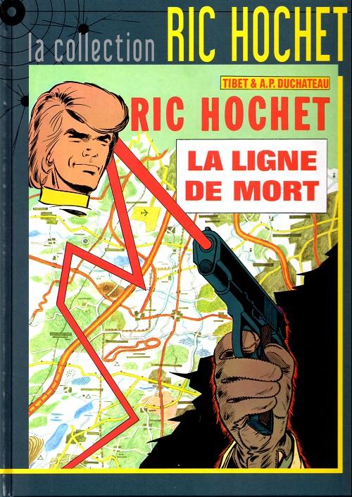 Couverture de Ric Hochet - La collection (Hachette) -23- La ligne de mort
