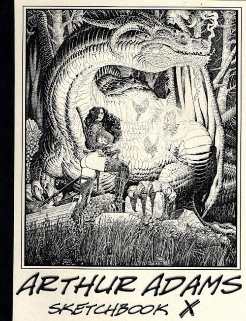 Couverture de (AUT) Adams, Arthur -10- Arthur Adams Sketchbook X