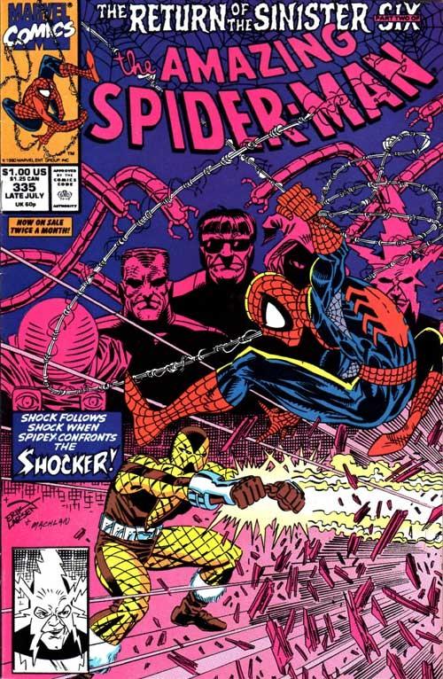 Couverture de The amazing Spider-Man Vol.1 (Marvel comics - 1963) -335- Shocks!