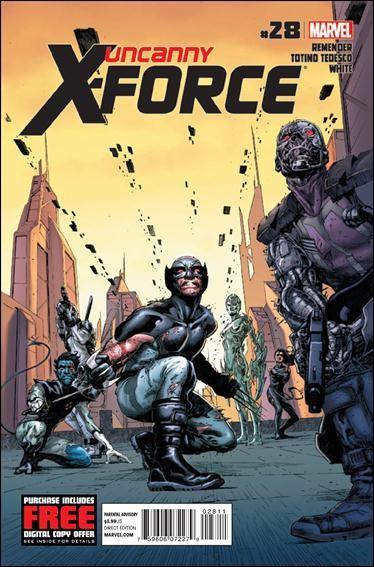 Couverture de Uncanny X-Force (2010) -28- Final execution part 4