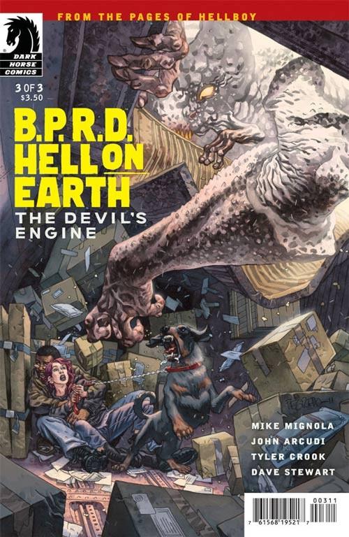 Couverture de B.P.R.D. (2003) -96- Hell on Earth - The Devil's Engine 3