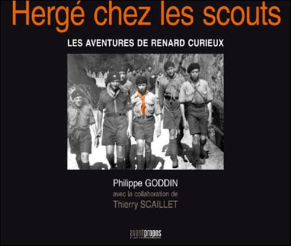 Couverture de (AUT) Hergé -135- Hergé chez les scouts - les aventures de renard curieux