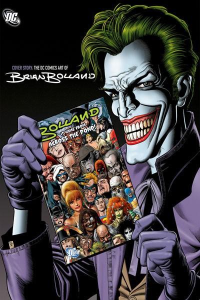 Couverture de (AUT) Bolland (en anglais) - Cover story: The DC Comics Art of Brian Bolland