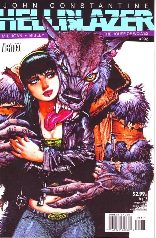 Couverture de Hellblazer (DC comics - 1988) -292- The house of wolves